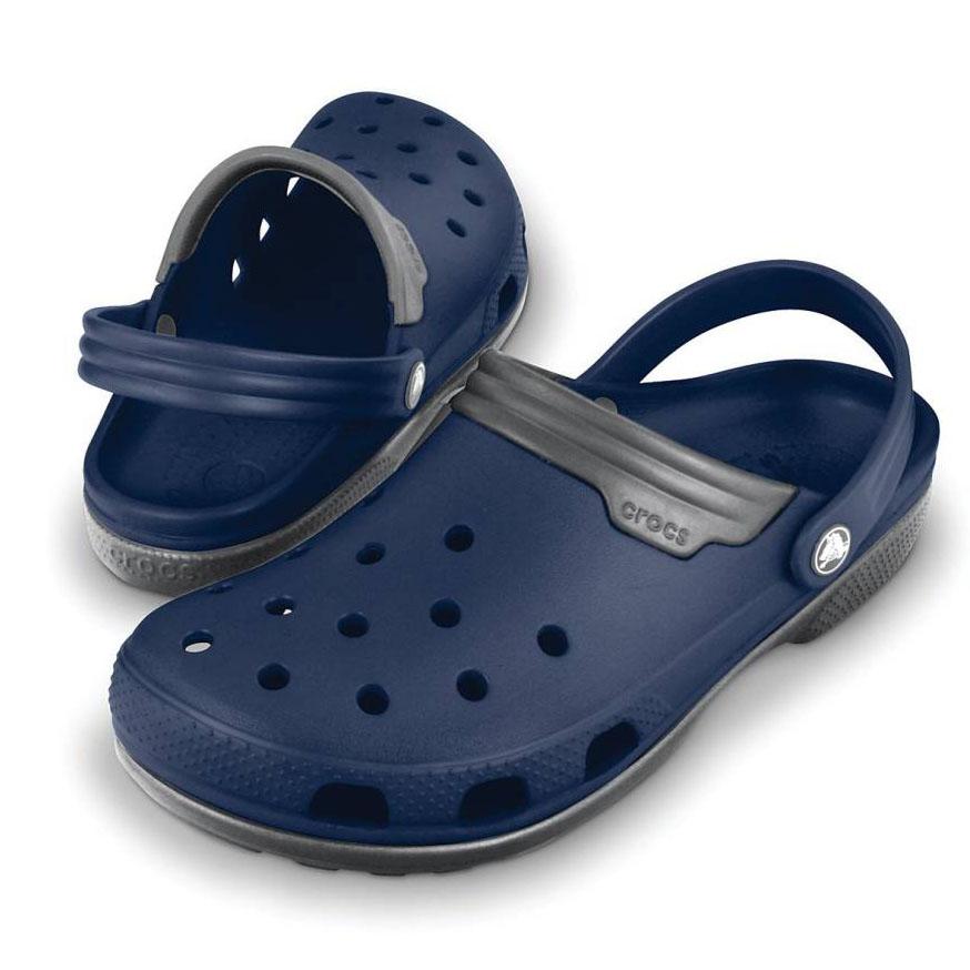 a03692063dfd7 Crocs Men Navy Smoke Sandals – TryB4Shop