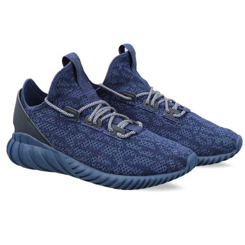 cf62734c24c9 ADIDAS ORIGINALS TUBULAR DOOM SOCK PK Sneakers For Men (Blue ...